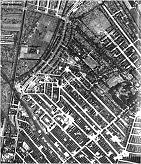 East Hull in January 1943 .. RAF reconnaisance map